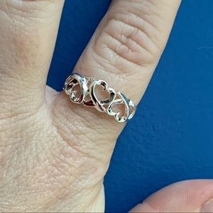 Jewelry - Beautiful 925 sterling silver heart ring
